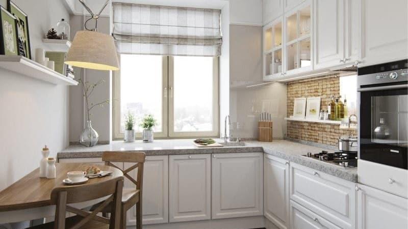 Варианты кухонь в пастельных тонах: дизайн кухни со светлым гарнитуром