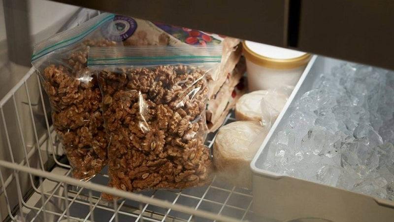 Хранение орехов дома — как делать это правильно