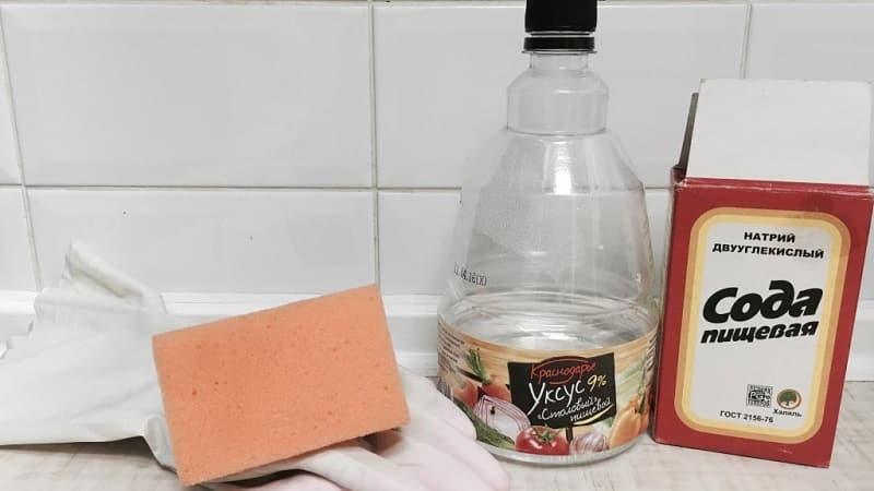 Подручные средства для очистки стеклокерамических плит