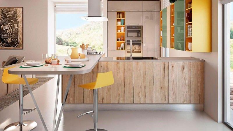 О маленьких кухнях с барной стойкой: небольшие кухни своими руками