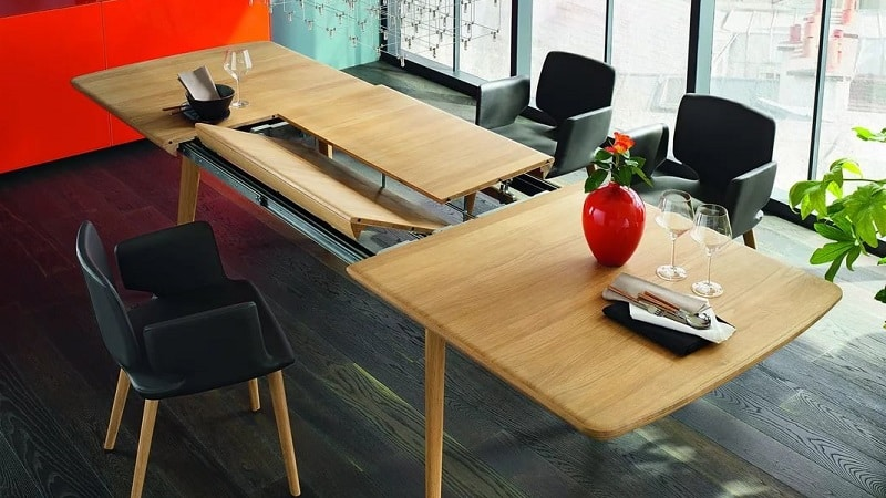 Большие раскладные кухонные столы
