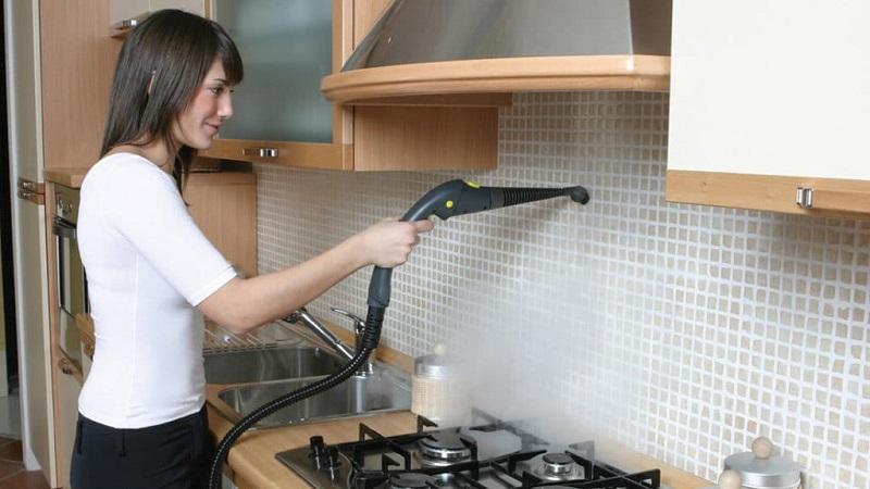 Чем помыть кафель на кухне от жира и грязи
