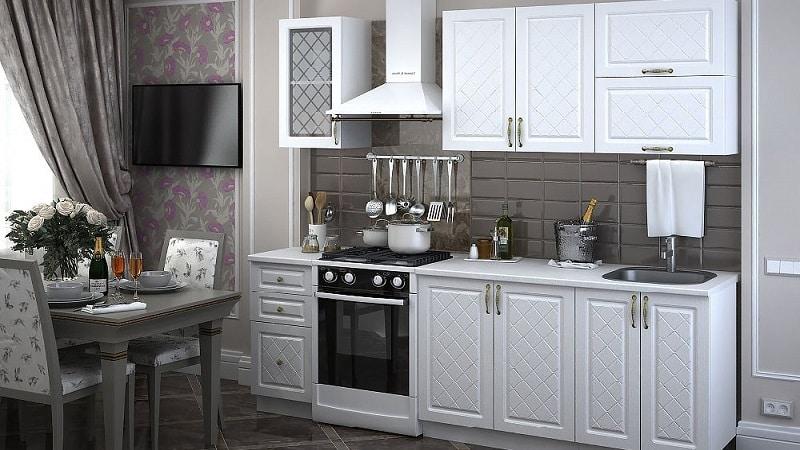 Готовая модульная мебель для кухни
