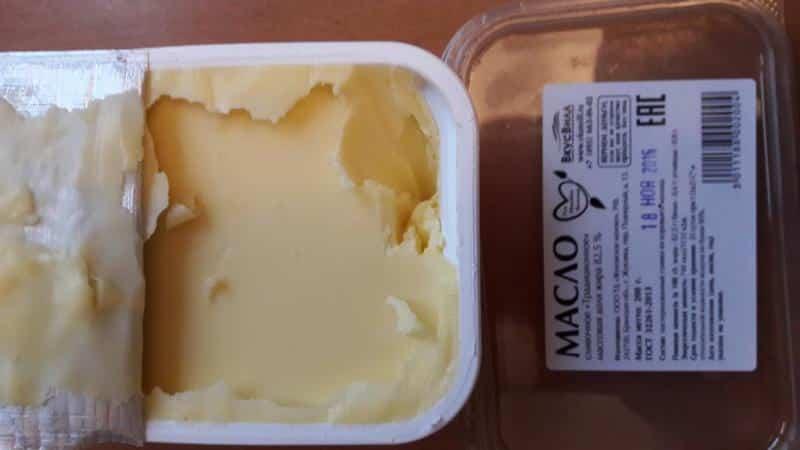 Хранение сливочного масла в морозильной камере - условия и сроки