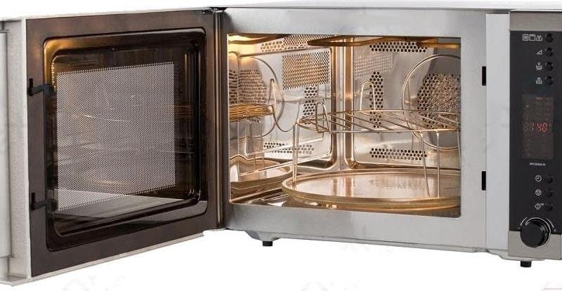 Как пользоваться микроволновой печью с грилем и конвекцией