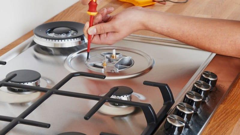 Как заменить газовую плиту на новую