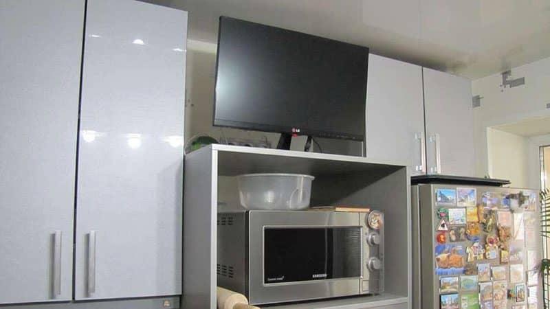 Можно ли поставить микроволновку рядом с телевизором