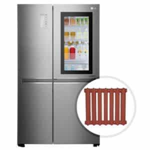 Можно ли ставить холодильники рядом с батареями отопления
