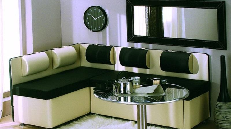 Современный кухонный уголок для кухонь стильного дизайна