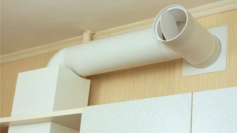 Все об устройстве вытяжки на кухне через стену в частном доме