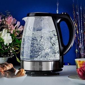 Как отмыть от накипи стеклянный чайник
