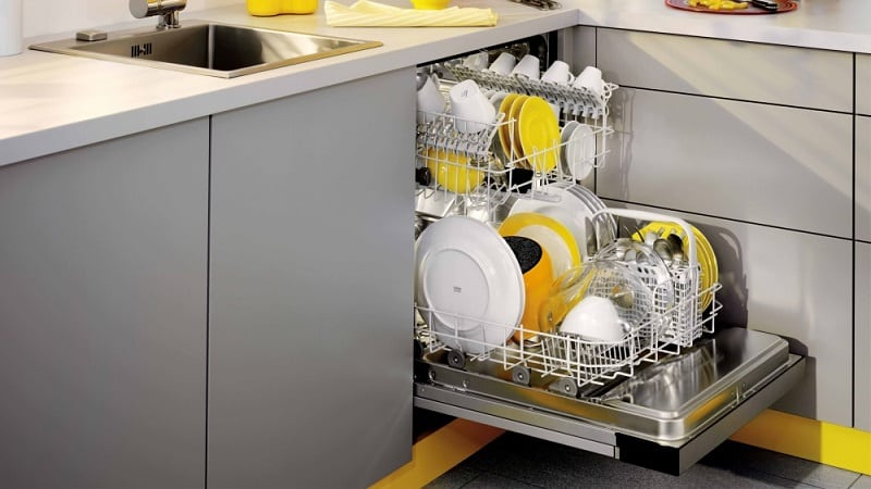 Какие используются средства для посудомоечной машины