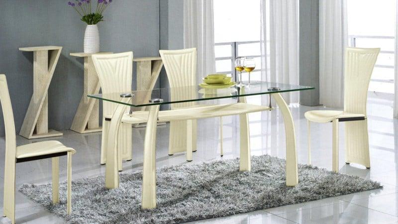 О стеклянных столешницах для кухонного стола