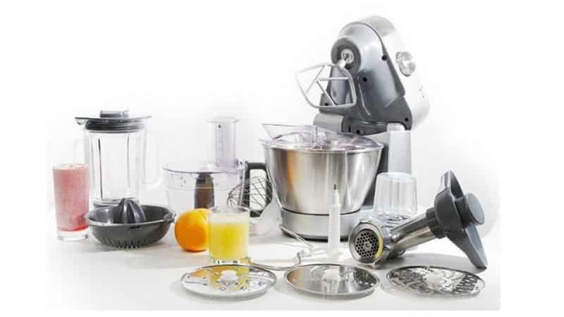 Отличие кухонного комбайна от кухонных машин
