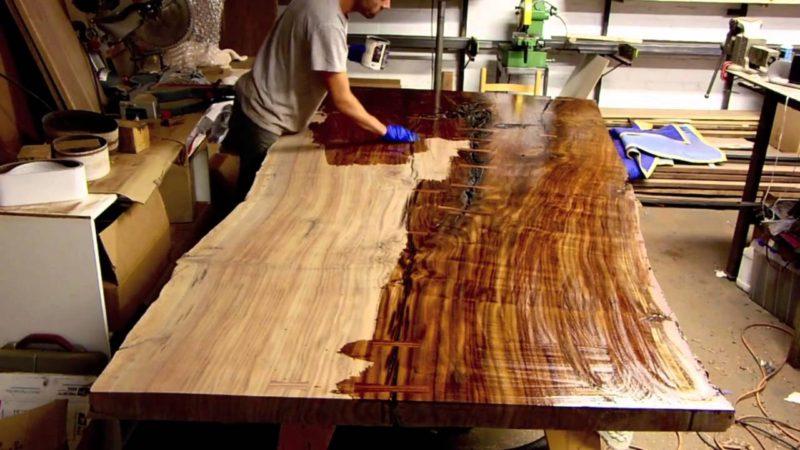 Все о столешницах из дерева для кухни