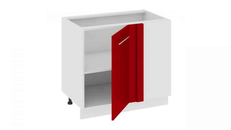 Подбираем угловой напольный шкаф на кухню