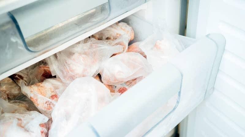 Хранение свежей и охлажденной курицы в домашних условиях