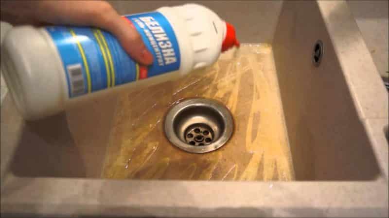 Чем почистить керамическую мойку