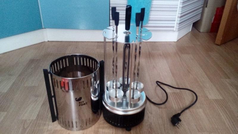 Как выбрать электрошашлычницу для домашнего использования