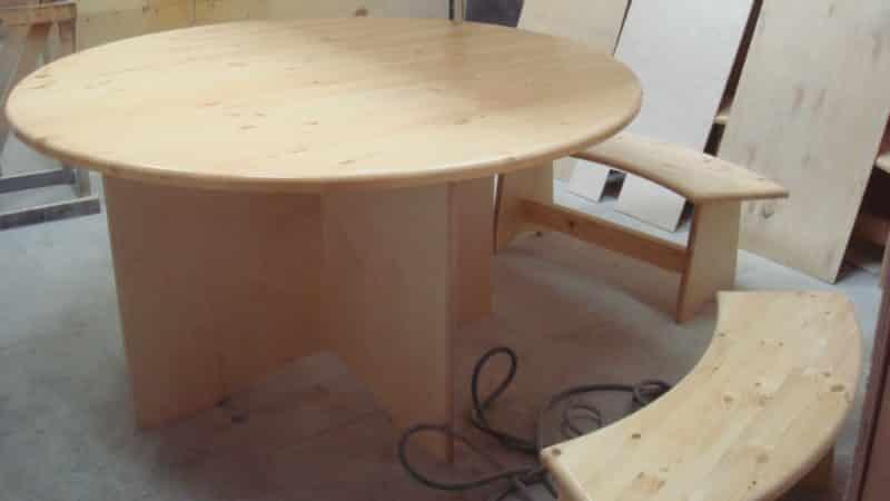 Изготовление кухонного стола своими руками из дерева или ДСП