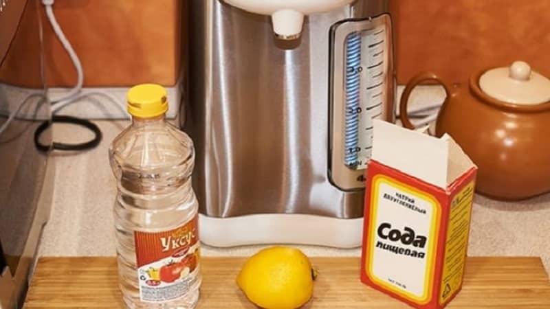Как очистить накипь в термопоте в условиях дома