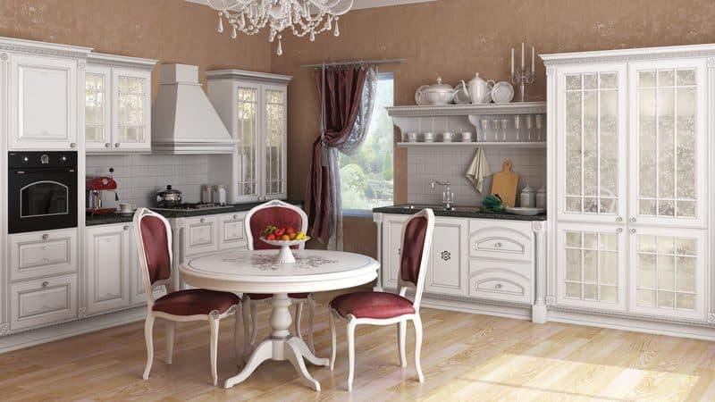 Как подобрать люстру на кухню в классическом стиле