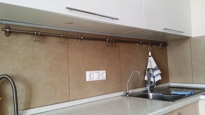 Крепление кухонных шкафов к стене из гипсокартона