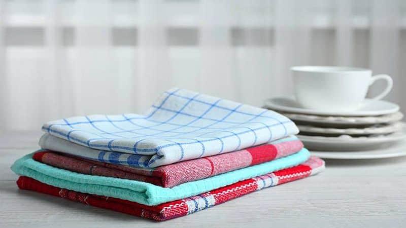 Отбеливание кухонных полотенец в домашних условиях — лучшие способы