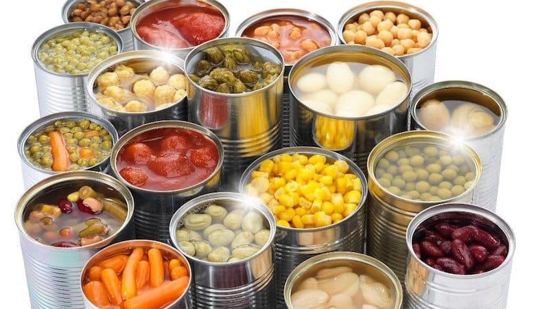 Условия для хранения баночных консервов - какие лучше подойдут