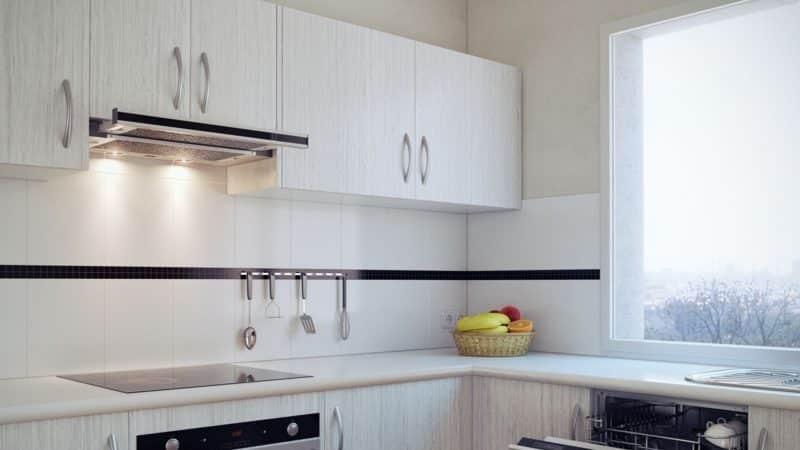 Кухонные вытяжки, встраиваемые в шкаф