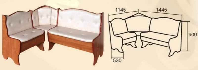 Перетяжка кухонного уголка: реставрация в домашних условиях