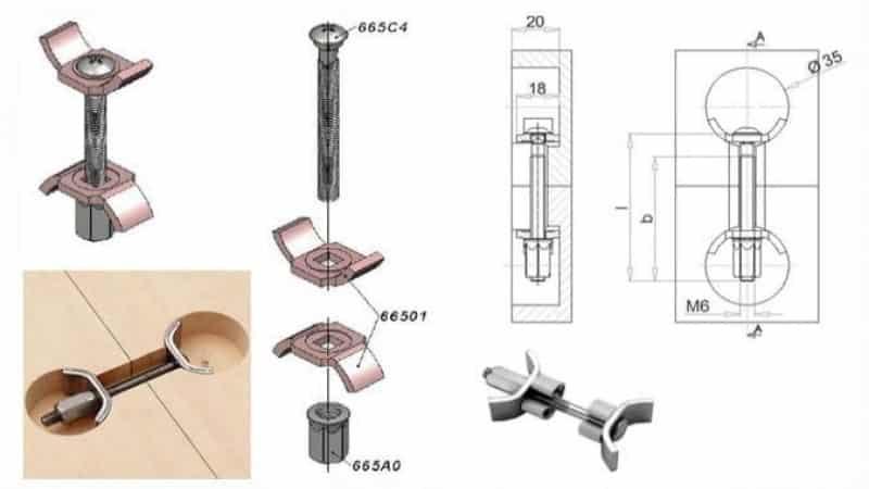 Особенности стыковки столешниц для кухни между собой