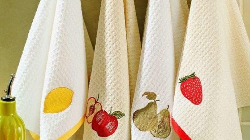 Как отстирать полотенца для кухни с растительным маслом