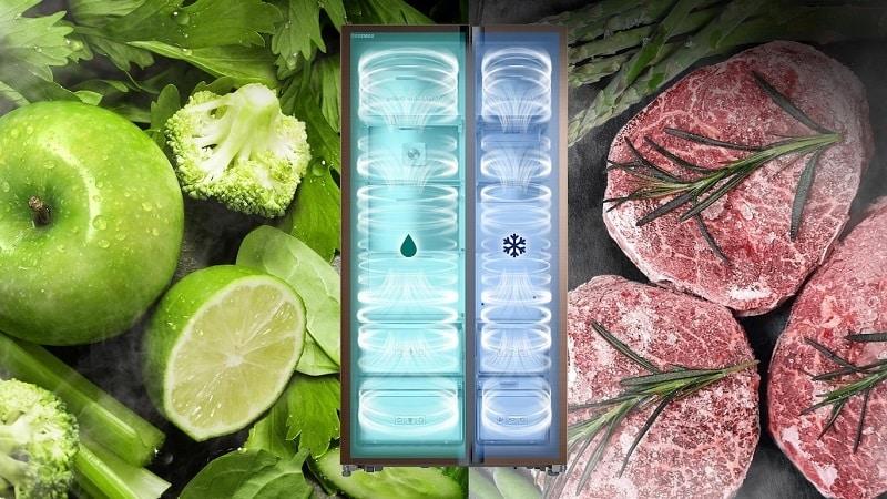 Какая должна быть влажность в холодильнике в процентах