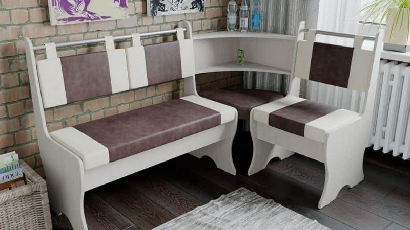 Кухонные уголки без стола и стульев: разнообразие выбора