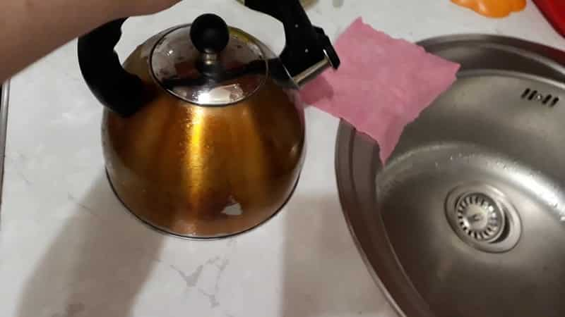 Как удалить накипь с чайника из нержавеющей стали
