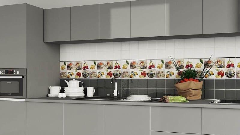 Настенная плитка 10х10 см в кухню