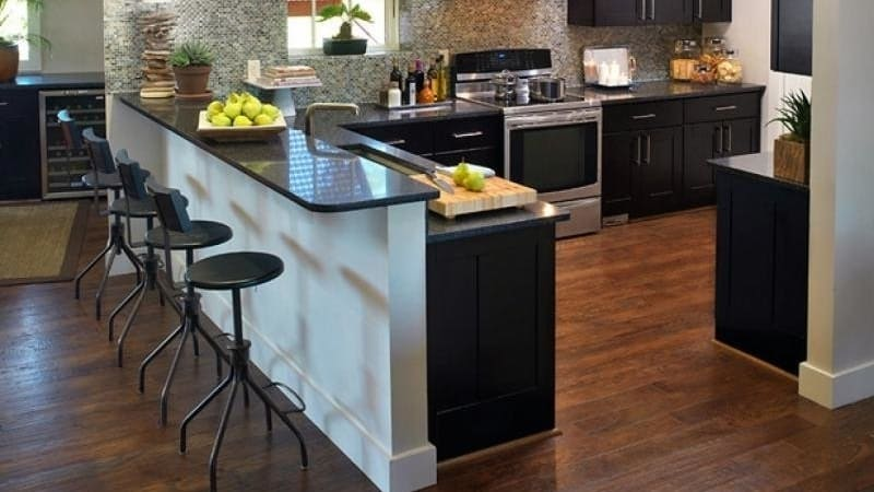 О барной стойке в классическом стиле для кухонного гарнитура