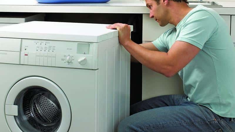 Порядок установки стиральных машин по уровню, чтобы не прыгали