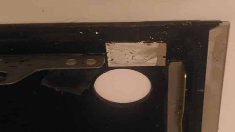 Что делать с трещиной на варочной панели