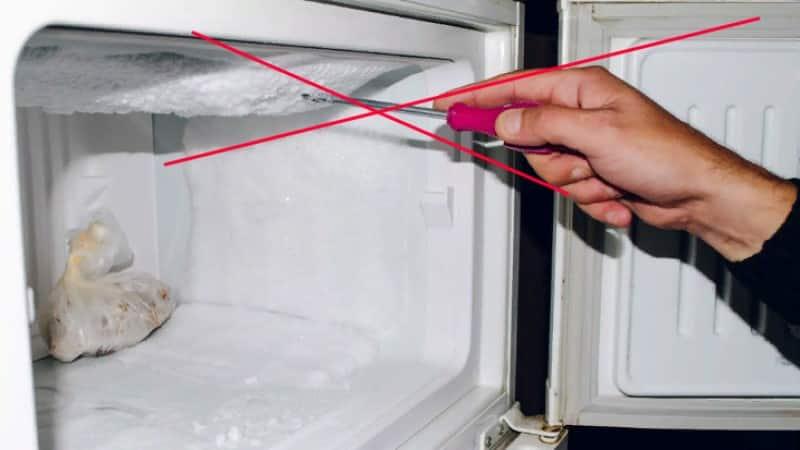Что такое ручная разморозка морозильных камер и как ее провести