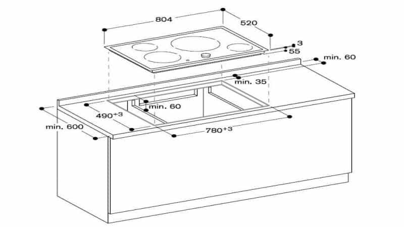 Правила установки индукционной варочной панели