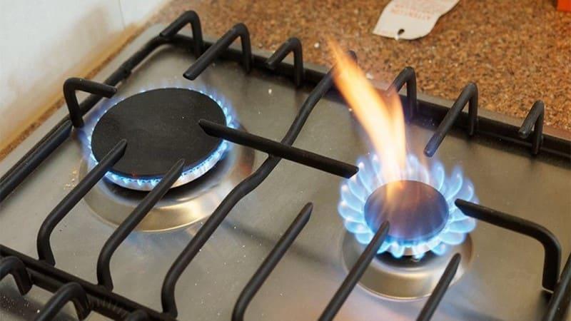 Почему коптит газовая плита с баллоном пропана