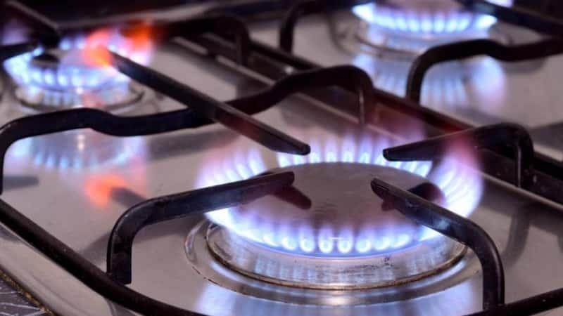Что делать, если коптит плита с газовым баллоном