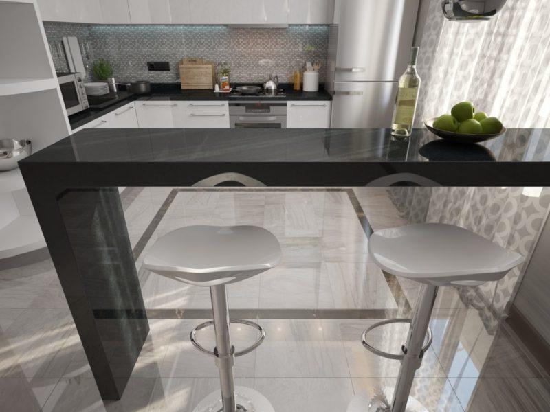 О барной стойке для кухни: как сделать своими руками
