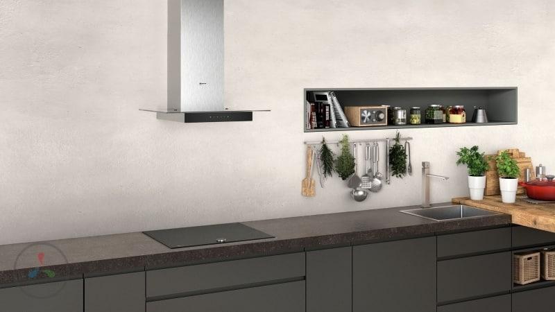 Как уменьшить шум вытяжки на кухне