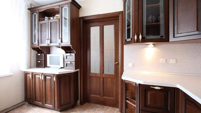 Шкафы для посуды на кухню с сушилками