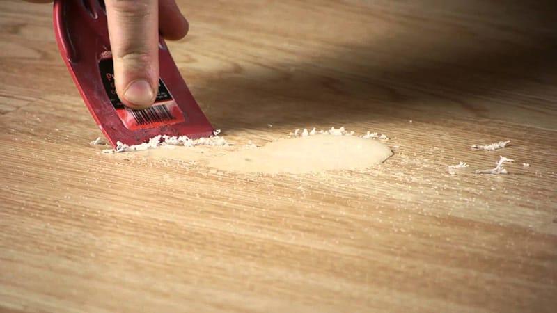 Заделка сколов на столешнице на кухне: как убрать в домашних условиях