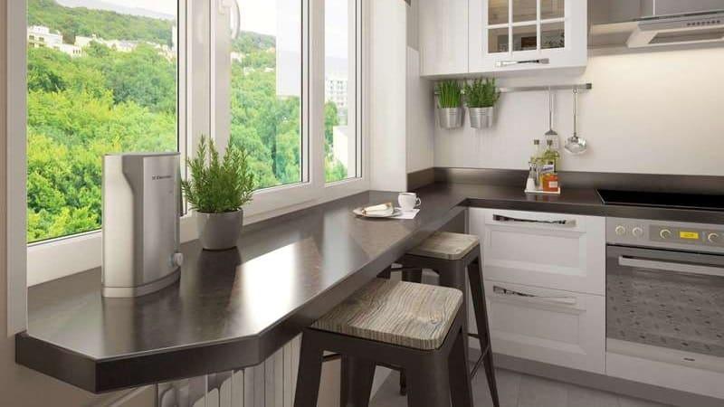 Барные стойки из кухонных столешниц своими руками