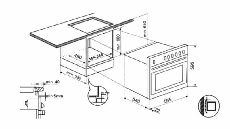 Как установить варочную панель